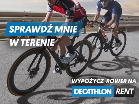 Wypożycz rower w Decathlon Rent
