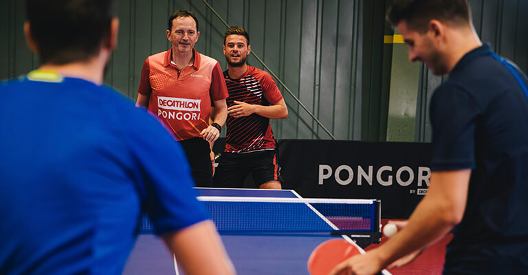 Tenis stołowy - zasady gry w debla